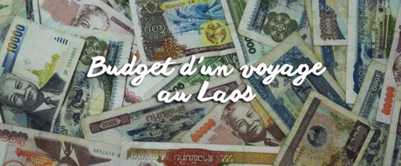 Budget d'un voyage au Laos