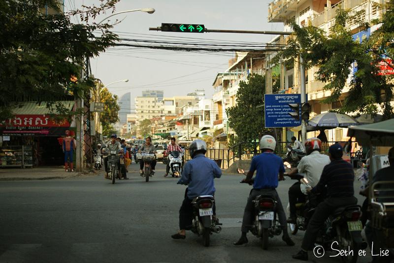 blog voyage cambodge phnom penh asie scooter