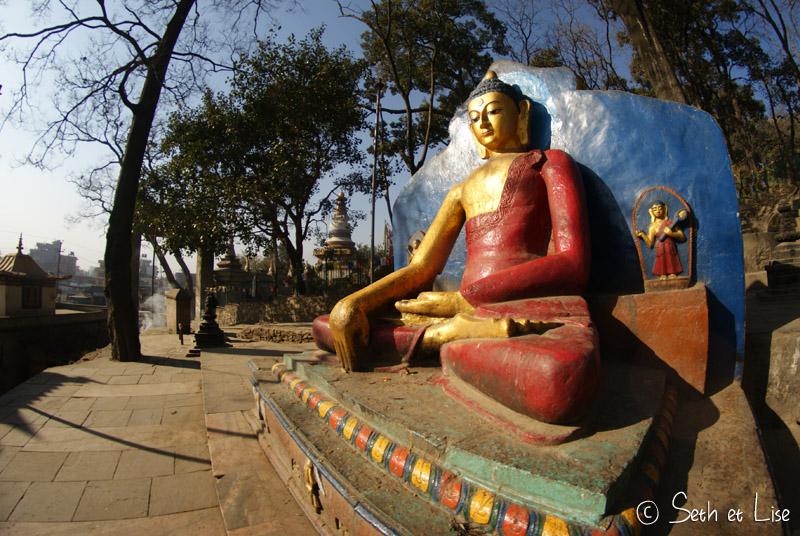 katmandu Swayambhunath blog voyage nepal tour monde