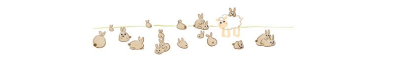 La dure vie du lapin néo-zélandais