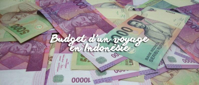 Budget d'un voyage en Indonésie