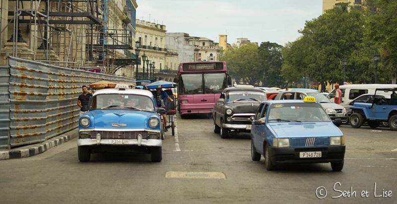 Voilà une rue par laquelle les taxi ne passeront pas...