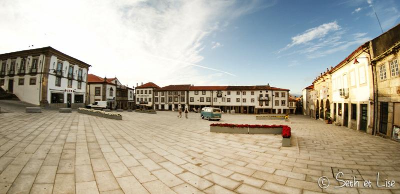 Guarda, ville la plus haute du Portugal