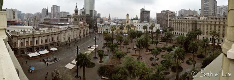 Arrivée au Chili