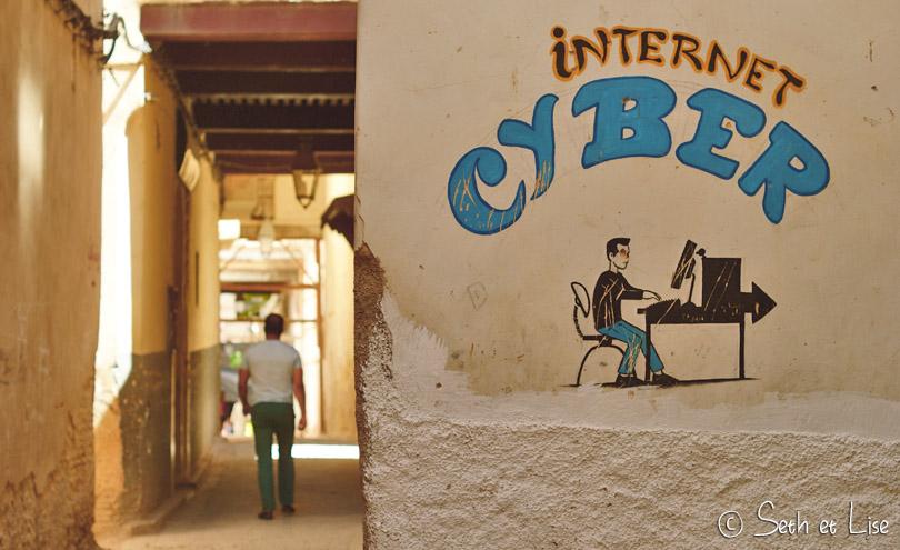 cyber café maroc fes