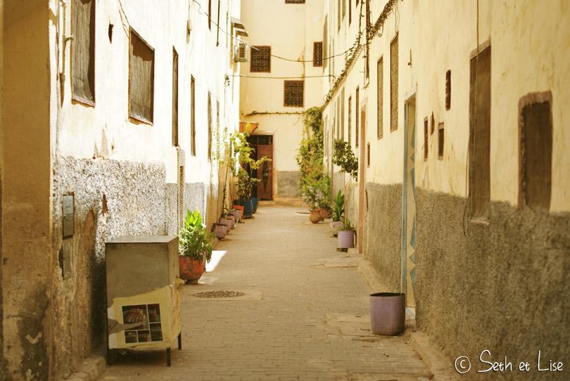 ruelle medina de fes maroc