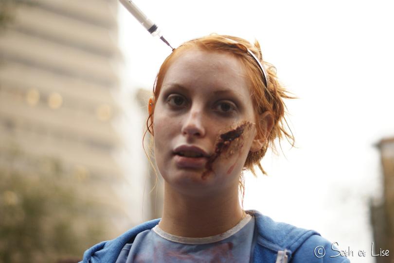 seringue marche des zombies montreal