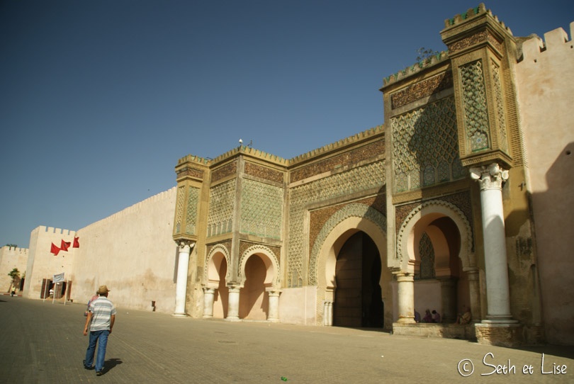 Bab Mansour meknes
