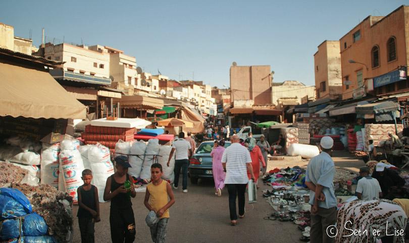 street market meknes
