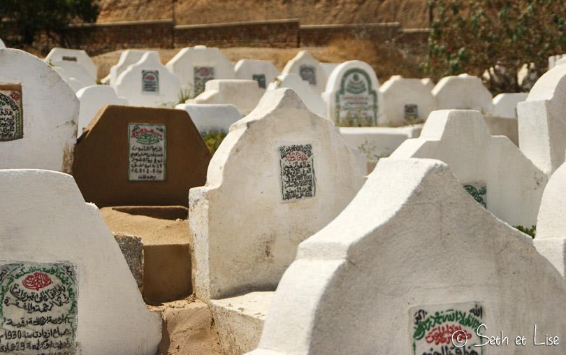 pierres tombales islam fes maroc