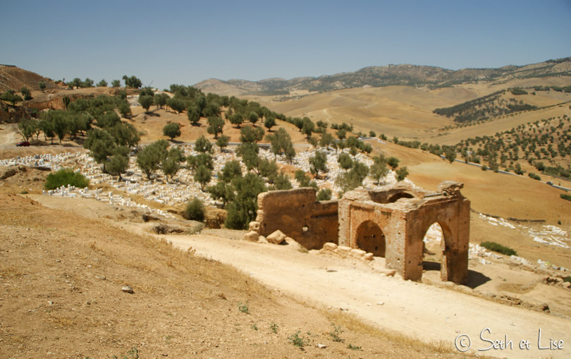 tombeau des mérinides ruines