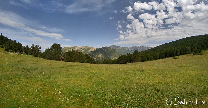 vue panoramique pyrennes