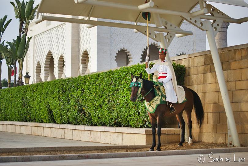 garde royal marocaine