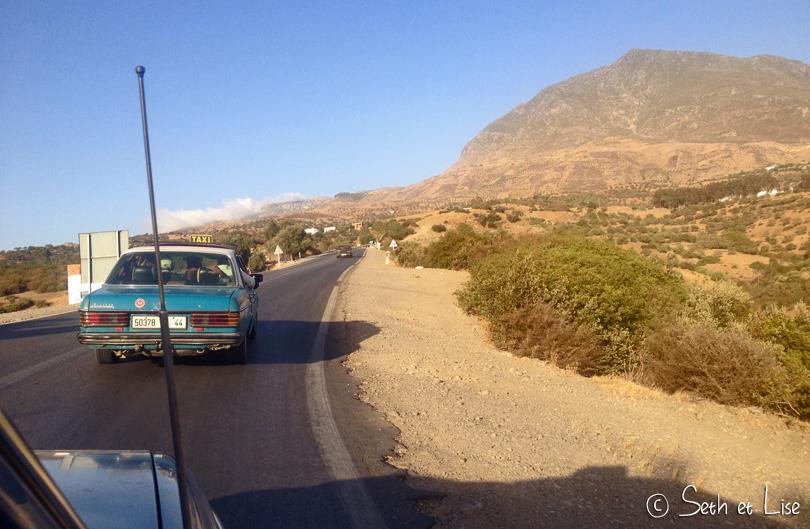 Périple hasardeux de Rabat à Chefchaouen
