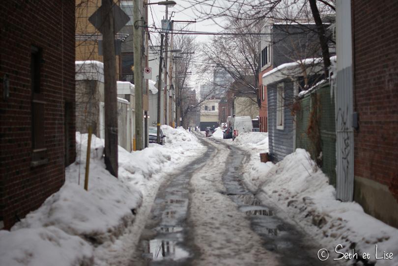 sloche hiver à montréal