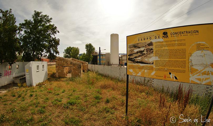 camp concentration miranda espagne