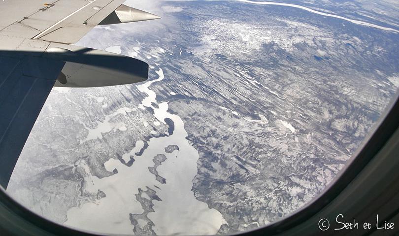 glacier yukon avion