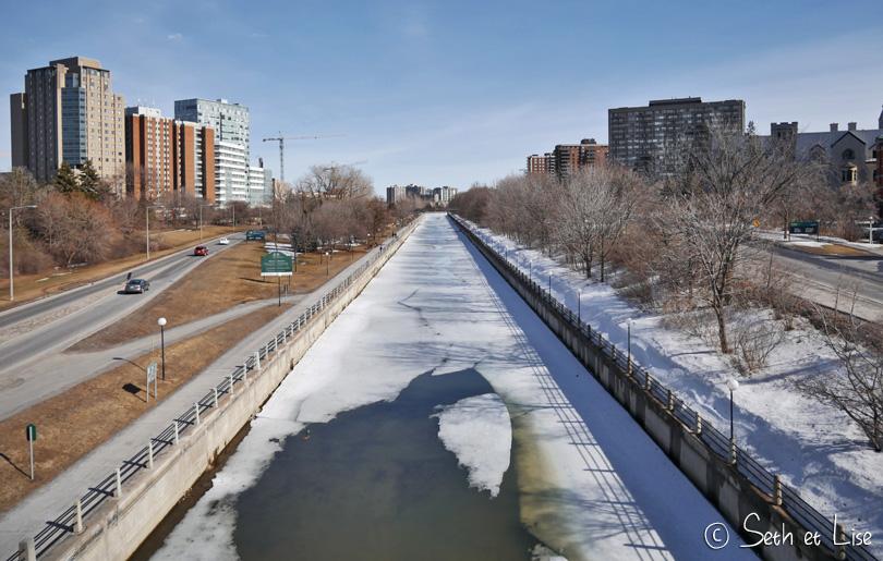 canal rideau hiver ottawa