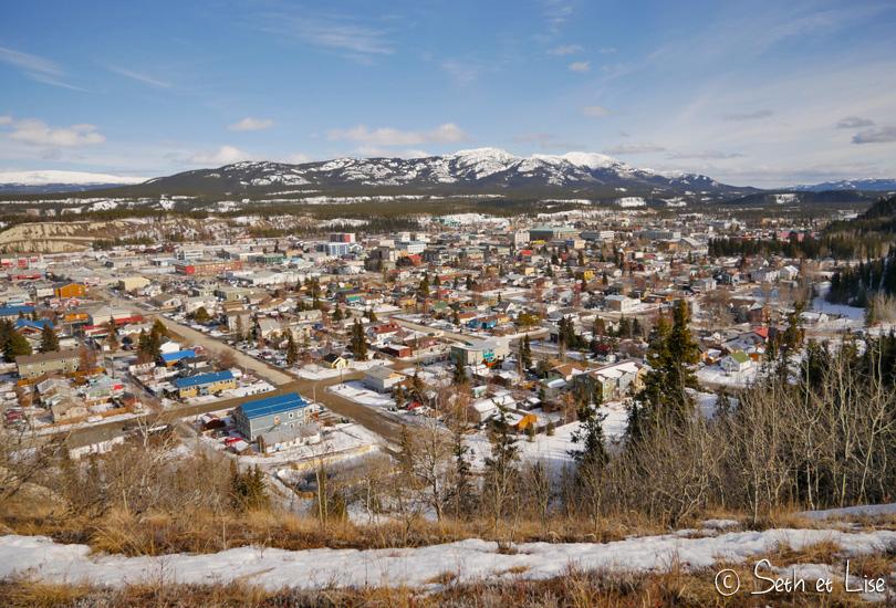 Whitehorse, capitale du Yukon