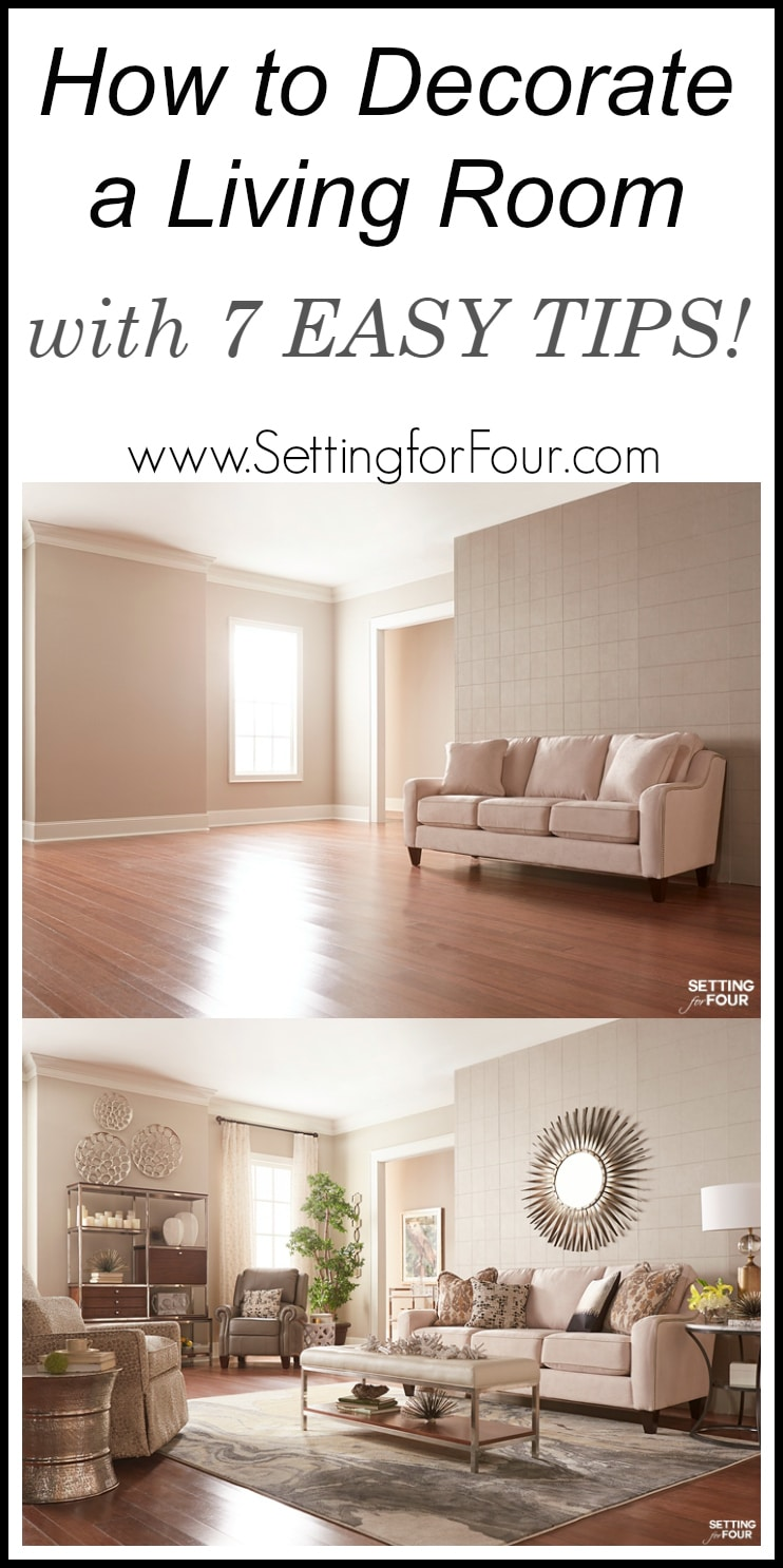 Large Of Living Room Setting