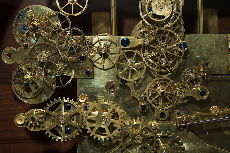 Vintage_Franz_Zajizek_Astronomical_Clock_machinery_-_0537