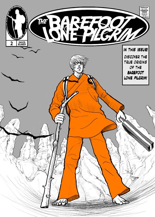 BLANDY Barefoot Lone Pilgrim comic cover