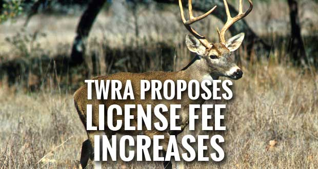 Twra proposes increases to hunting and fishing license for Lifetime fishing license price