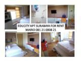 Sewa Apartemen Educity Pakuwon Surabaya - Studio Full Furnished - Double Window and Cheerful Interior