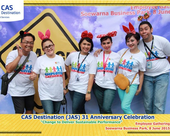 PT. CAS Employee Gathering 2015