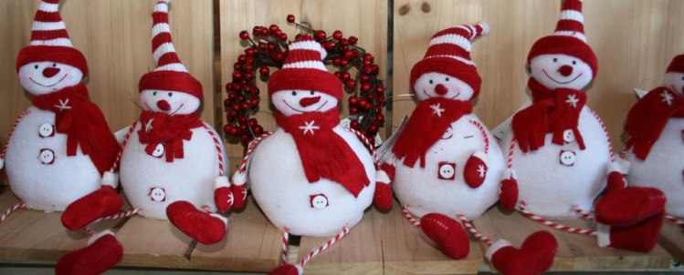 snow men, christmas, decorations