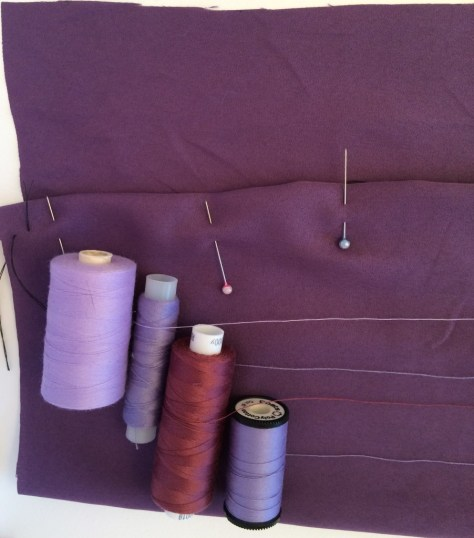 Sewing Avenue - Purple Threads