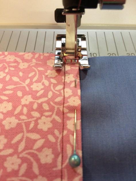 Step 3 - How to sew a flat-felled seam - Sewing Avenue