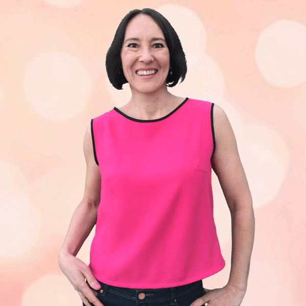 Camellia Top in Pink - Sewing Avenue, Sewing Blog - Image -