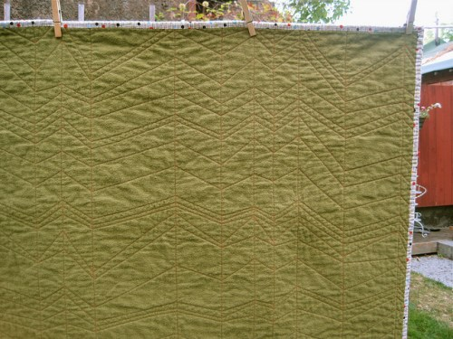 sewkatiedid/whole cloth quilt
