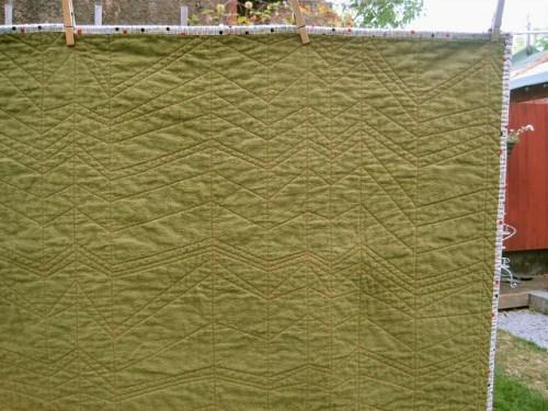 sewkatiedid/whole cloth quilt