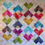 SEW KATIE DID:Warm and Cool Hearts Value Quilt Tutorial:square