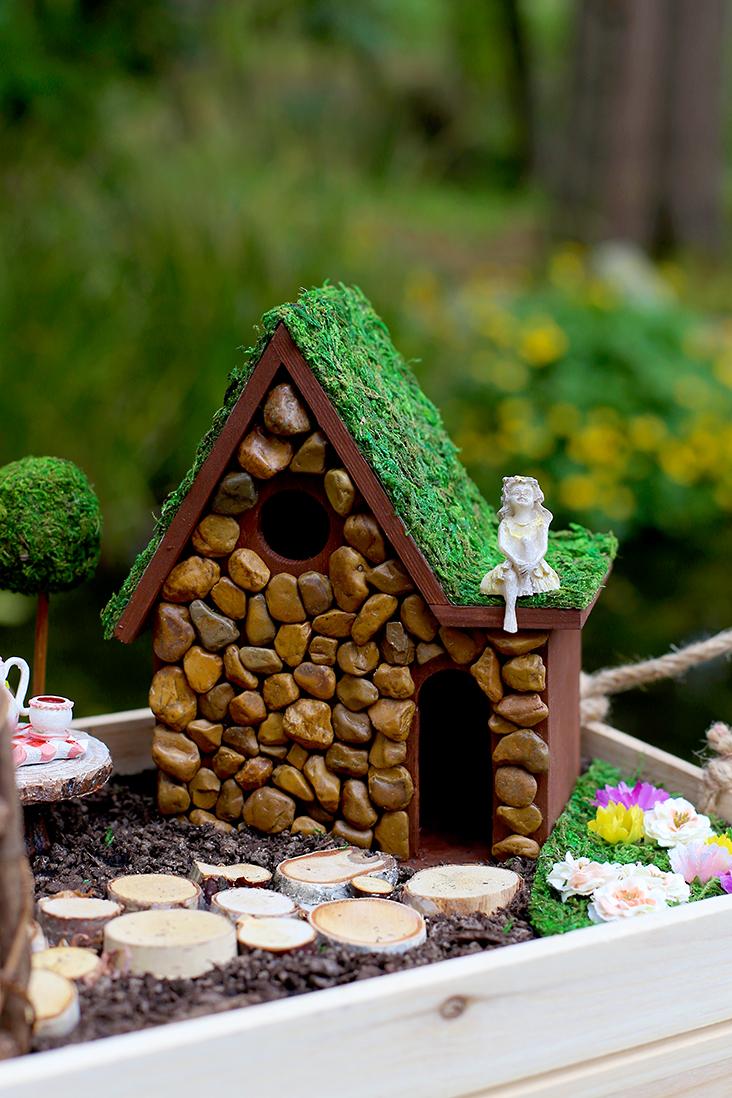 Splendid Fairy House Tutorial Sew Much Ado Diy Fairy Garden Swing Diy Fairy Garden Stuff Diy Fairy Garden Diy Fairy Garden Diy Fairy Garden Diy Fairy Garden garden Diy Fairy Garden