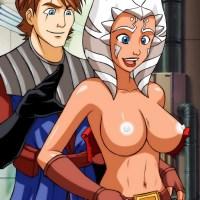 Ahsoka Tano - Star Wars sex cartoon