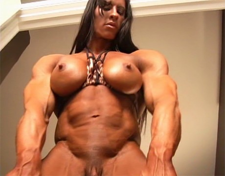 sexy muscular milf