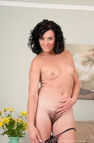 milf with small tits and hard nipples