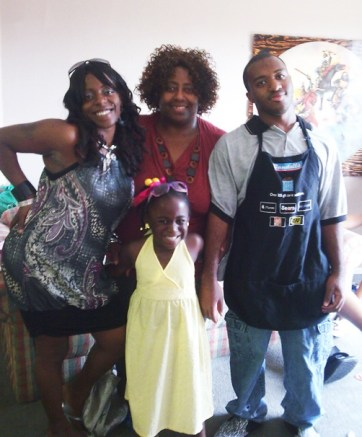 Eugenia Brown & family.