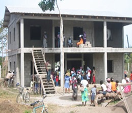 The Garifuna built their hospital brick by brick after President Manuel Zelaya gave the go-ahead. All 10 Garifuna doctors who staff it were trained in Cuba.