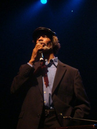 Gil Scott Heron gave a classic performance at the Regency Ballroom in San Francisco on Oct. 2.  Photo: Minister of Information JR