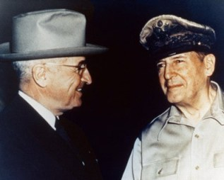 President Truman and Gen. MacArthur