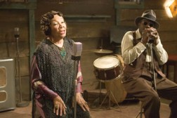 "Mabel John plays blues singer Bertha Mae Spivey in the 2007 film ""Honeydripper."" She stepped into the role at the last minute when Ruth Brown fell ill."