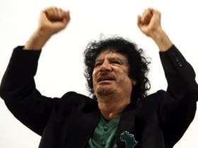Libyan Leader Muammar Qaddafi, who has long worked for a united and prosperous Africa, is this year's president of the African Union.