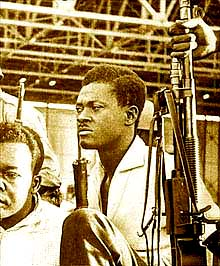 "President of the Congo Patrice Lumumba, shown here under arrest in December 1960, wrote in his last letter to his wife before his assassination: ""We are not alone. Africa, Asia, and free and liberated people from every corner of the world will always be found at the side of the Congolese. They will not abandon the light until the day comes when there are no more colonizers and their mercenaries in our country. … History will one day have its say, but it will not be the history that Brussels, Paris, Washington or the United Nations will teach … Do not weep for me, my dear companion. I know that my country, which suffers so much, will know how to defend its independence and its liberty. Long live the Congo! Long live Africa!"""