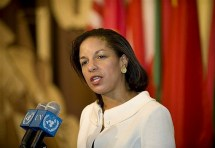 U.S. Ambassador to the U.N. Susan Rice  Photo: AFP