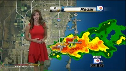 Julie Durda WPLG Local 10 News Debut