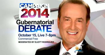 Elliott Rodriguez, WFOR CBS 4 Miami news anchor to moderate Florida Gubernatorial Debate